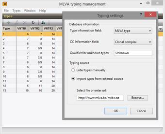 MLVA typing
