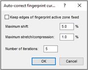 Auto-correct settings