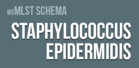 Staphylococcus epidermidis wgMLST schema